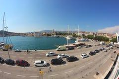 Port in Split Royalty Free Stock Photo