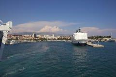Port in Split Royalty Free Stock Images