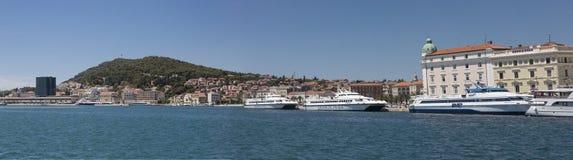 Port of Split, Croatia Royalty Free Stock Image