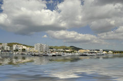 Port of St. Antoni, Ibiza Stock Photo