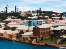 Port of St. Georges Bermuda stock image