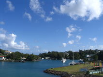 Port in St. Lucia Stock Images