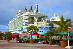 Port of St Maarten, Caribbean Royalty Free Stock Photo