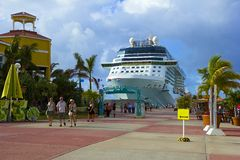 Port St Maarten, Karaiby Obrazy Royalty Free