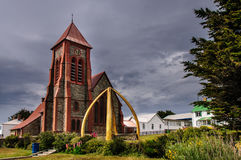 Port Stanley Cathedral Royalty Free Stock Images