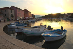 Port in Stari Grad Stock Photography