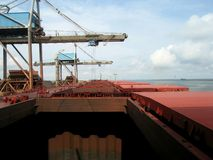 port statku Fotografia Royalty Free
