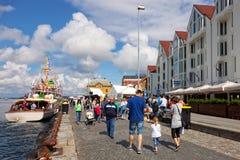 Port of Stavanger Royalty Free Stock Image