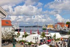 Port of Stavanger Stock Photo