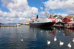 Port of Stavanger Royalty Free Stock Images