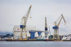 Port of Stavanger Royalty Free Stock Photos