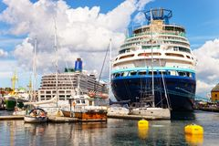 Port of Stavanger royalty free stock photo