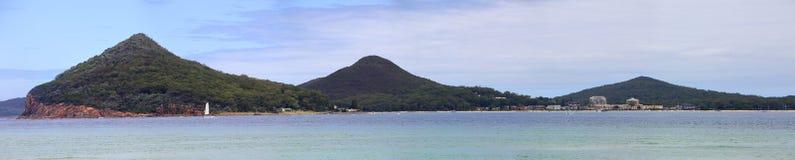 Port Stephens Shoal Bay Arkivfoto