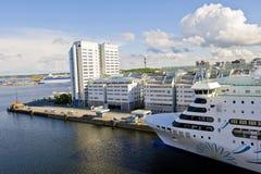 Port of Stockholm Stock Image
