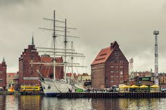Port of Stralsund Royalty Free Stock Photo