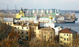 Port Strelka Nizhny Novgorod Stock Photography