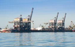 Port structures Stock Photography