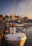 Port Suède de village de Torekov Photo libre de droits