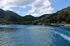 Port sui precedenti dell'isola di Koh Chang Fotografia Stock Libera da Diritti