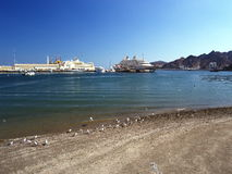 Port Sultan Qaboos. In Muscat, Oman Stock Images