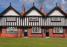 Port Sunlight Model Village Houses Royalty Free Stock Photo