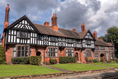 Port Sunlight Model Village Houses Royalty Free Stock Image