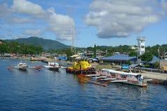 Port of Surigao Royalty Free Stock Photo