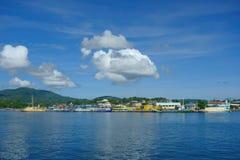 Port of Surigao Stock Photos
