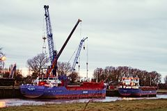 Port Sutton Bridge Stock Images