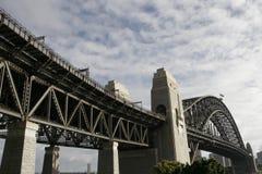 port Sydney de passerelle Image libre de droits