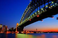 port Sydney de passerelle Image stock