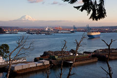 Port of Tacoma Royalty Free Stock Photo