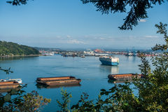 Port Of Tacoma Activity Stock Image