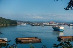 Port Of Tacoma Activity 2 Royalty Free Stock Photo
