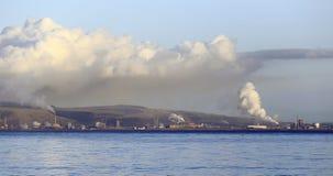 Port Talbot industries Stock Photo