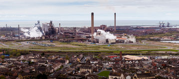 Port Talbot steel works Royalty Free Stock Photography