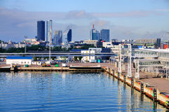 Port of Tallinn, Estonia. The Port / Harbor of Tallinn, Estonia stock photography