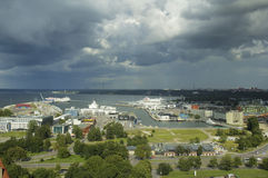 Port of Tallinn. Estonia. Royalty Free Stock Images