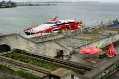 Port of Tallinn Royalty Free Stock Image