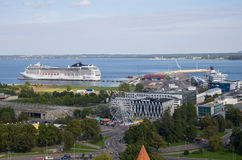 Port of Tallinn Royalty Free Stock Photos