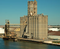 Port of Tampa. Industrial area of the Port of Tampa, Florida stock photos