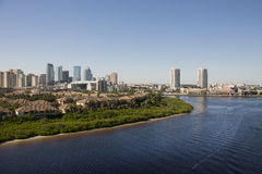 Port of Tampa - Garrison Channel Royalty Free Stock Photography
