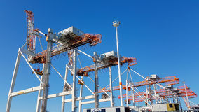 Port of Tauranga container terminal Stock Photography