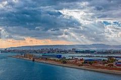 Port Tawfik, Egypte images stock