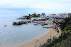 Port, Tenby, sud du pays de Galles, R-U image libre de droits