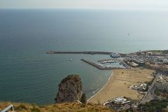 Port of Terracina Royalty Free Stock Photo