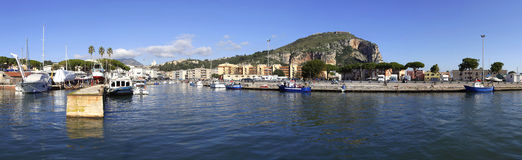 Port of Terracina, Italy Royalty Free Stock Photo