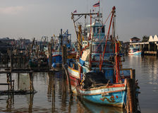 Port in Thailand Royalty Free Stock Photo