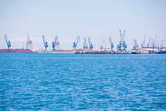 Port of Thessaloniki, Greece Stock Photo