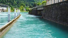 Port of Thun Lake Interlaken Stock Photography